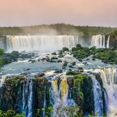 waterfalls rainforest